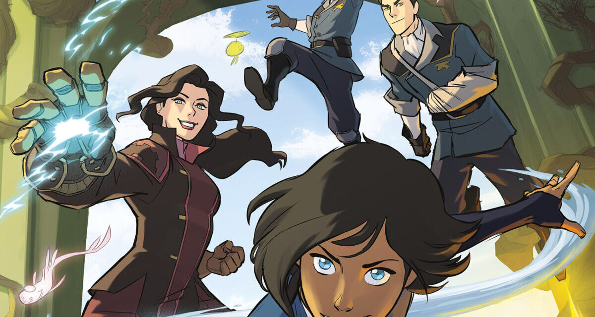 THE LEGEND OF KORRA Cast Returns with Table Read of Graphic Novel
