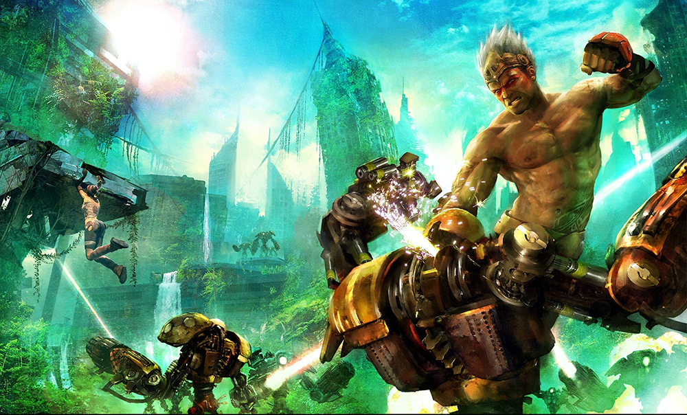Favorite Video Game Dystopian Earths: Enslaved Odyssey to the West