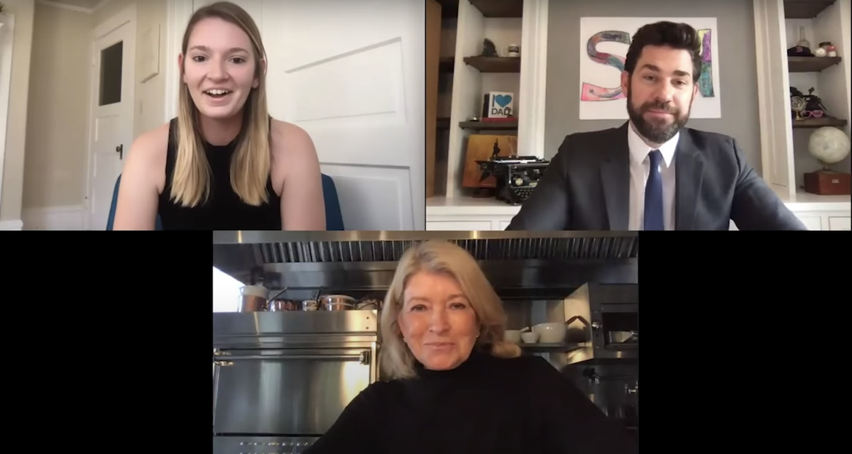 John Krasinski's SOME GOOD NEWS Hosts a Potluck with Martha Stewart, David Chang, Stanley Tucci and Guy Fieri!