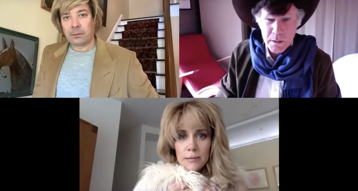 Jimmy Fallon, Kristen Wiig and Will Ferrel Have the Silliest Virtual Slap Fight with Their Soap Opera Parody