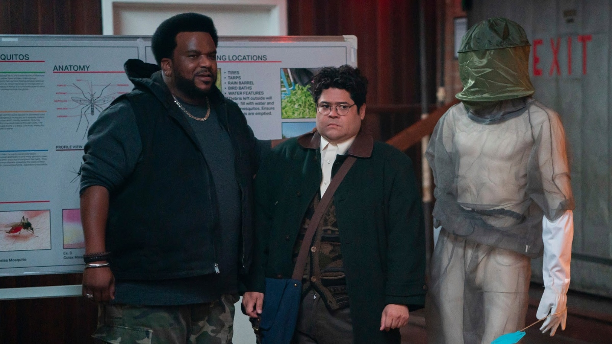 Guillermo makes some new friends on What We Do In The Shadows