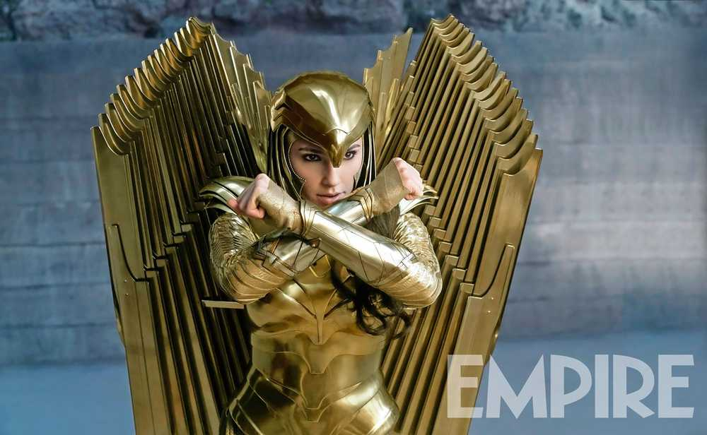 Empire Magazine Exclusive: Gal Gadot as Wonder Woman for Wonder Woman 1984