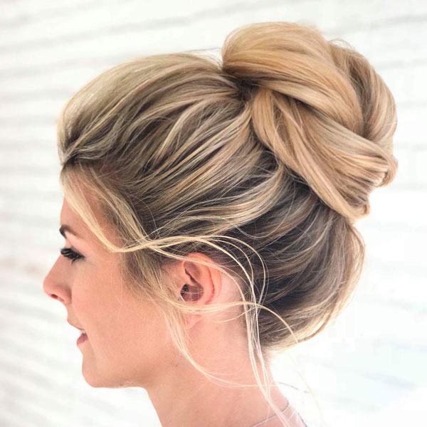 20 Trendy Bun Hairstyles For Women To Copy