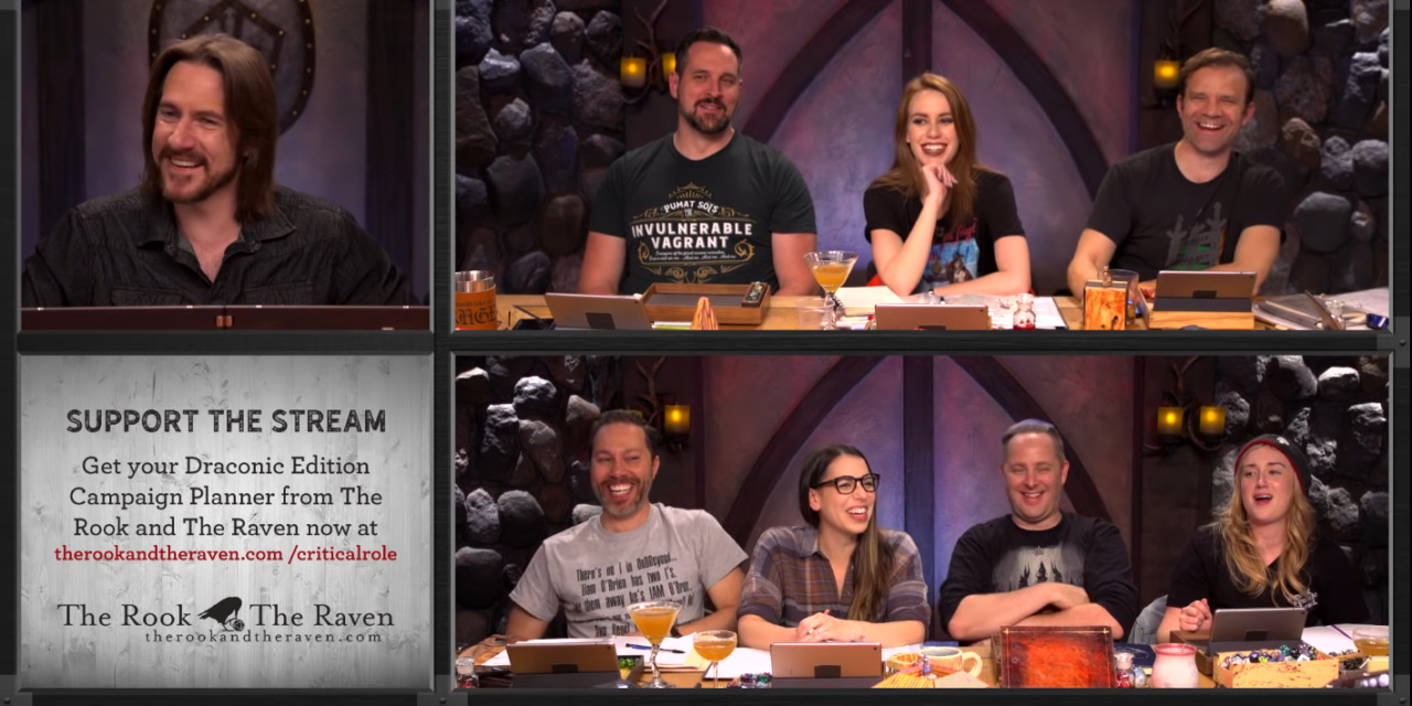 """CRITICAL ROLE Fan Gets Creative With """"It's Been A While"""" Parody"""