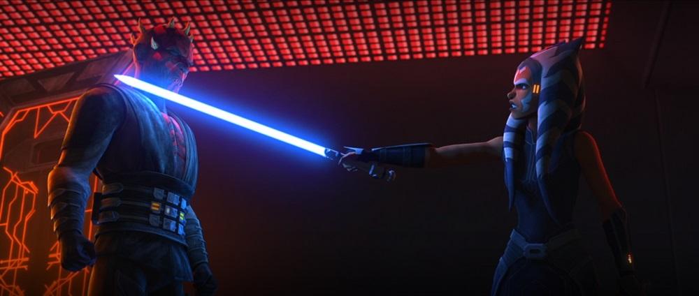 The Clone Wars: Ahsoka frees Maul