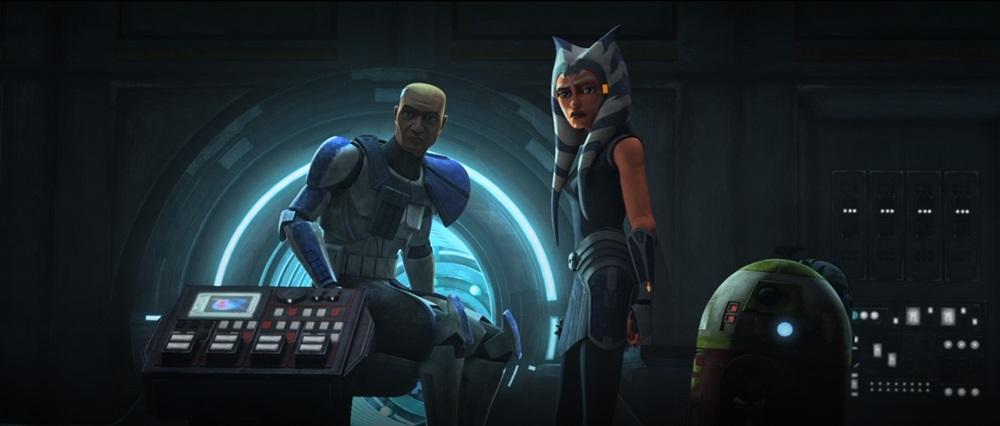 The Clone Wars: Ahsoka and Captain Rex