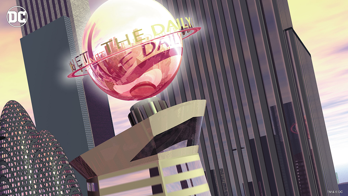 DC's Daily Planet from Superman