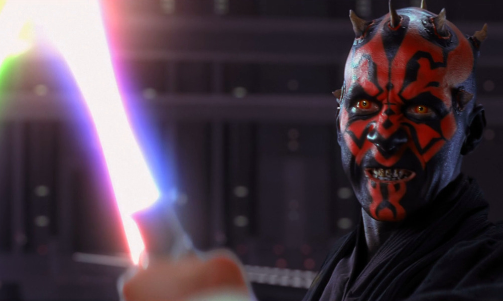 Darth Maul, apprentice to Darth Sidious and Sith Lord