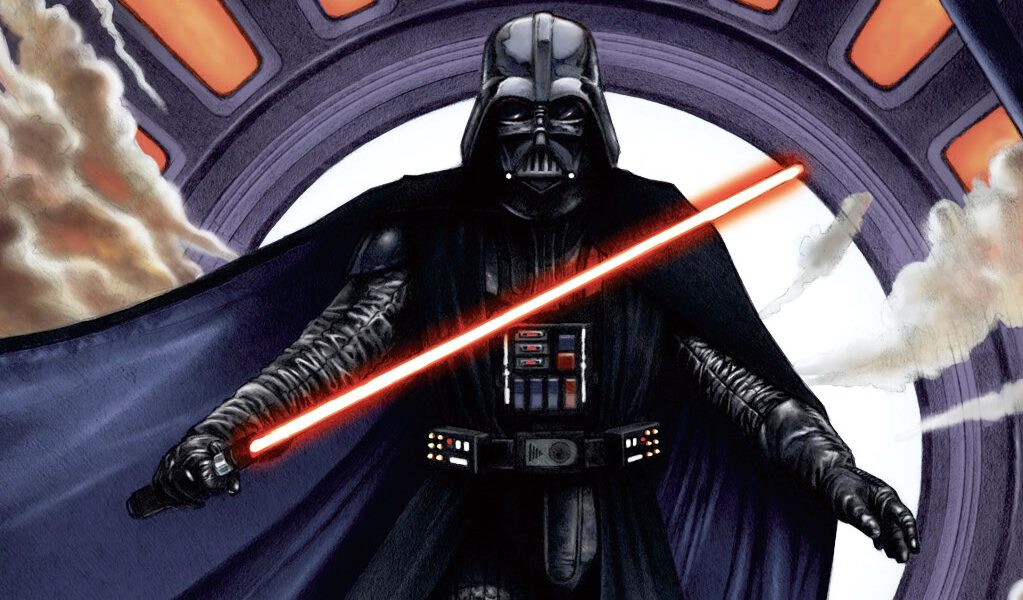 Darth Vader, apprentice to Darth Sidious and Sith Lord
