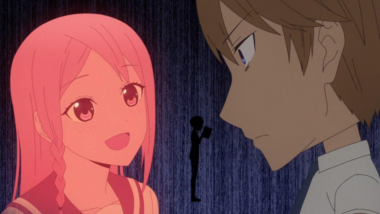 Hayasaka and Miyuki (from Kaguya-sama: Love Is War! Season 2, Episode 4)