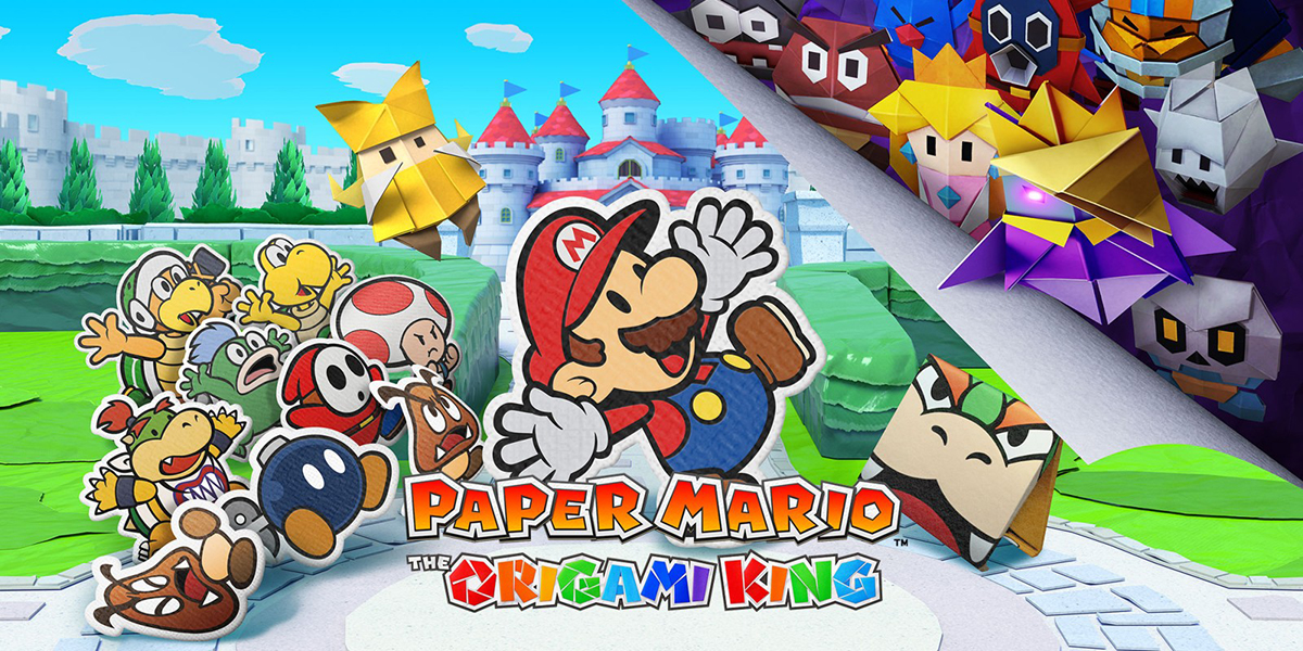 Mario Is Back in PAPER MARIO: THE ORIGAMI KING