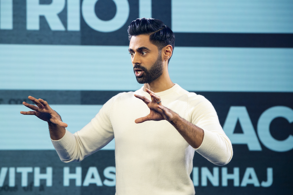 Hasan Minhaj in Patriot Act