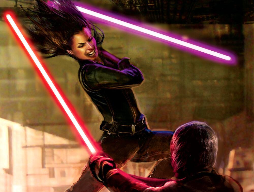 Jaina Solo, Jedi Knight and Sword of the Jedi