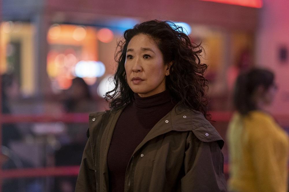 Still of Sandra Oh in Killing Eve.
