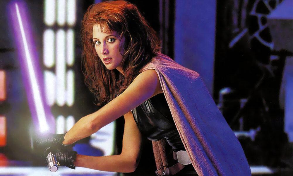 Mara Jade, Jedi Knight and wife of Luke Skywalker