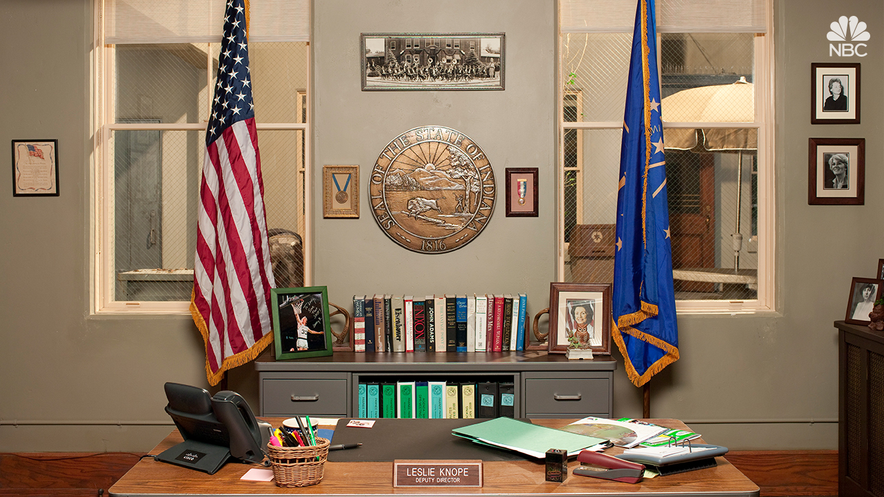 Leslie Knope's office from NBC's Parks and Recreation