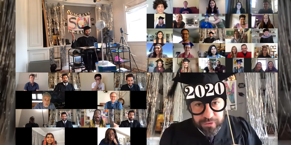 John Krasinski's SOME GOOD NEWS Celebrates Class of 2020 Graduates with Oprah Winfrey, Steven Spielberg, Malala Yousafzai, and Jon Stewart!