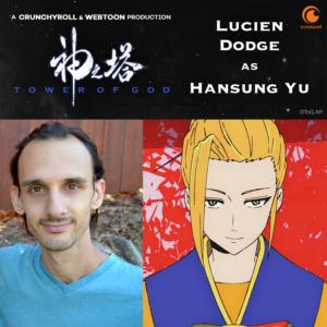 Lucien Dodge as Hansung Yu (TOG dub cast promo materials)