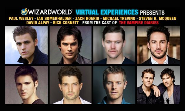 The Men of THE VAMPIRE DIARIES Reunite for Wizard World Virtual Experience