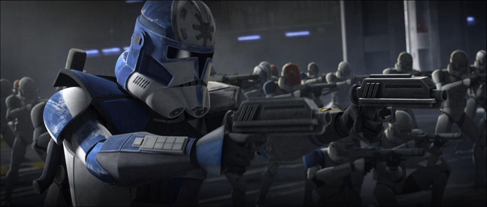 The Clone Wars: Jesse and his Clone Trooper squad