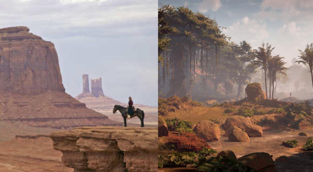 Horizon Zero Dawn: Monument Valley and the Jewel