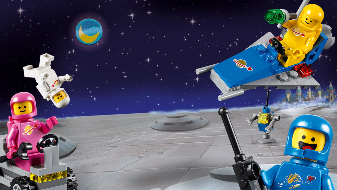 Benny and the Astronauts Virtual Background from Lego