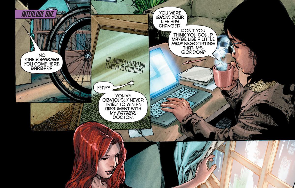 Excerpt from Batgirl Vol 4 #16, March 2013 | DC Comics
