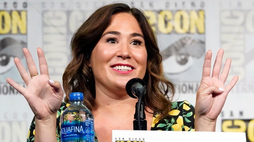 Wynonna Earp Showrunner Emily Andras at San Diego Comic-Con