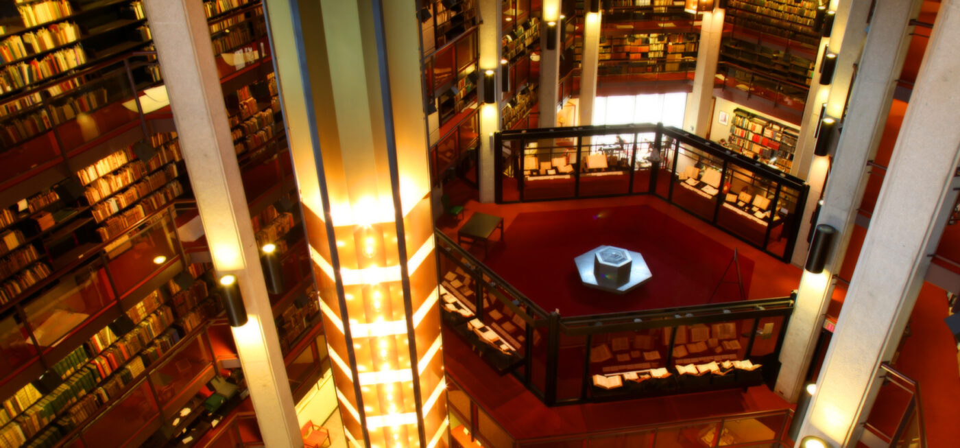 Thomas Fisher Rare Book Library courtesy of University of Toronto
