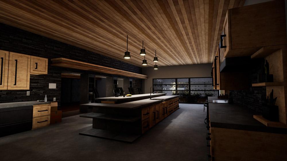 Hailey's kitchen in Rhome.