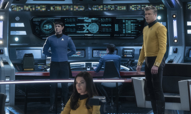 STAR TREK Spinoff STRANGE NEW WORLDS to Feature Pike, Spock and Number One