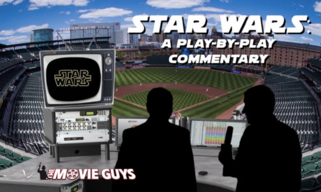 Star Wars: A Sports Play-By-Play Commentary