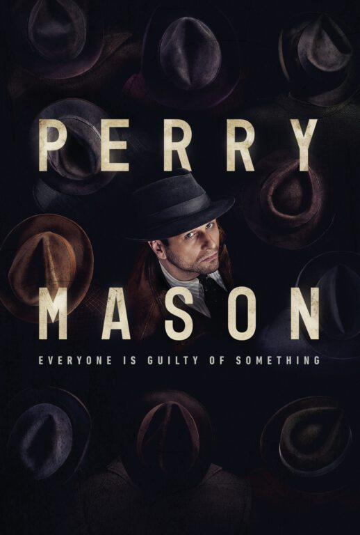 Key art for HBO's PERRY MASON