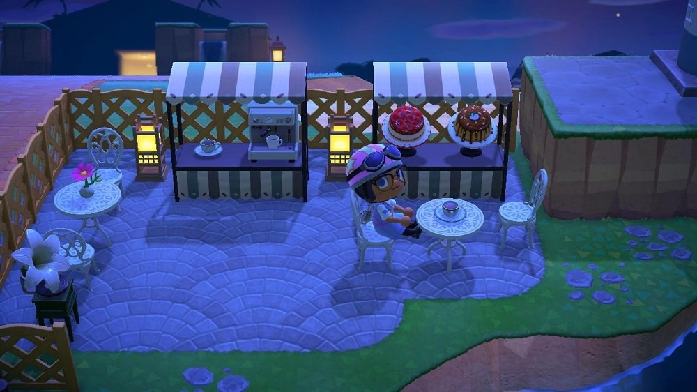 Animal Crossing New Horizons: Night Cafe