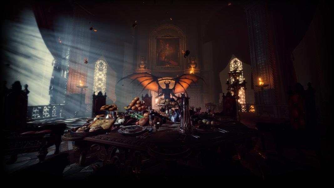 a devil in the Baldurs Gate 3 Early Access Trailer