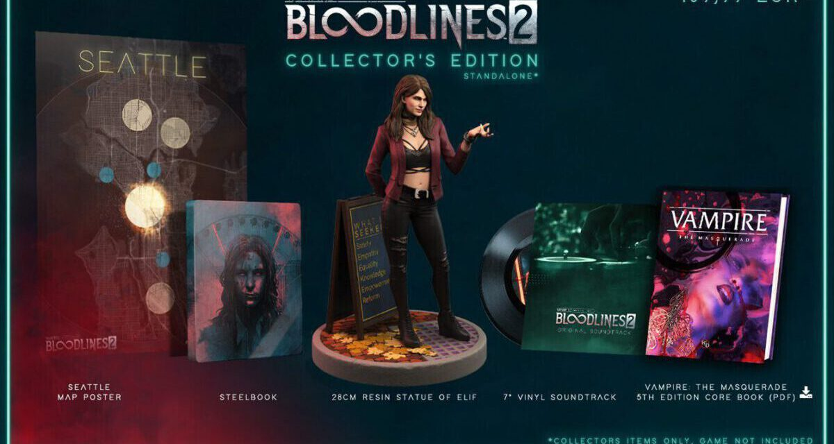 VAMPIRE: THE MASQUERADE – BLOODLINES 2 Reveals Its Fang-tastic Collector's Edition