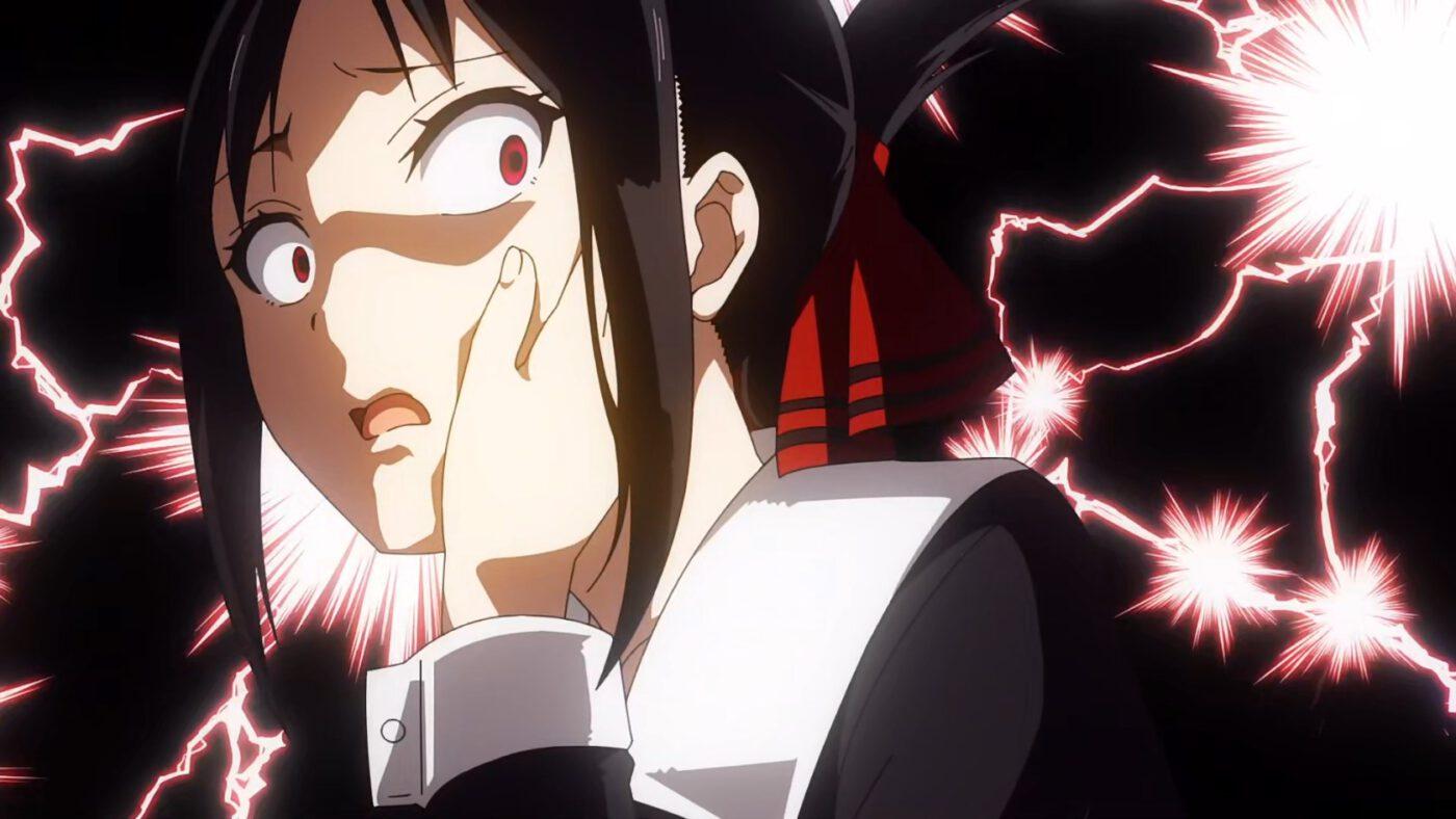 Kaguya shocked (Kaguya-sama: Love Is War, season 2, episode 12)