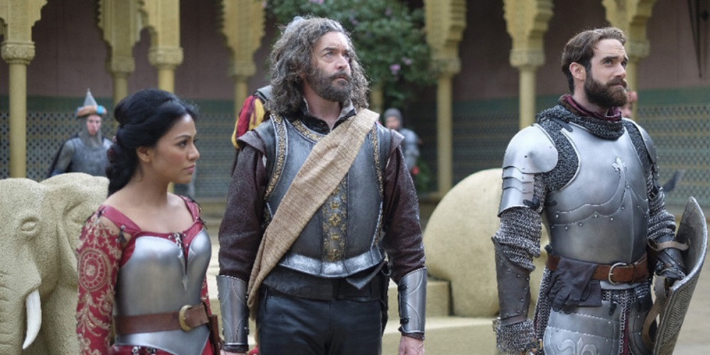 Still of Karen David, Timothy Omundson, and Joshua Sasse in Galavant