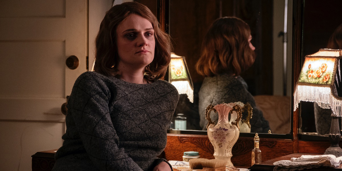 Gayle Rankin as Emily Dodson in HBO's PERRY MASON
