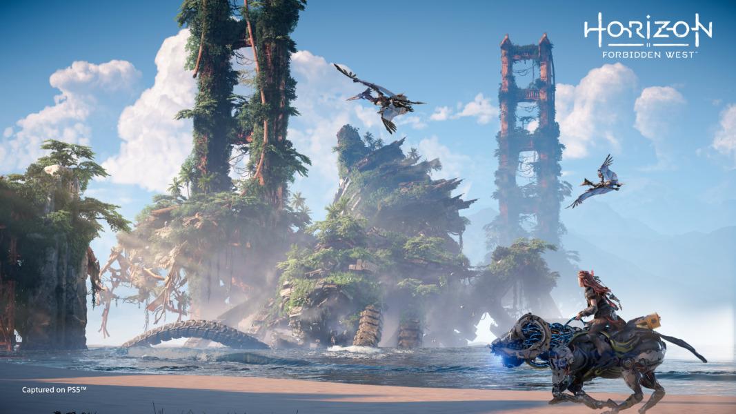 Horizon Forbidden West takes Aloy beyond the areas of the original game.