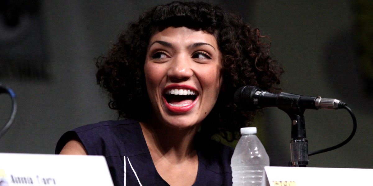 Jasika Nicole is a Queer Actor of Color