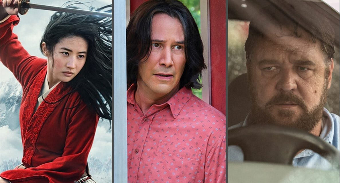 MULAN, BILL AND TED FACE THE MUSIC and UNHINGED Schedule New Release Dates