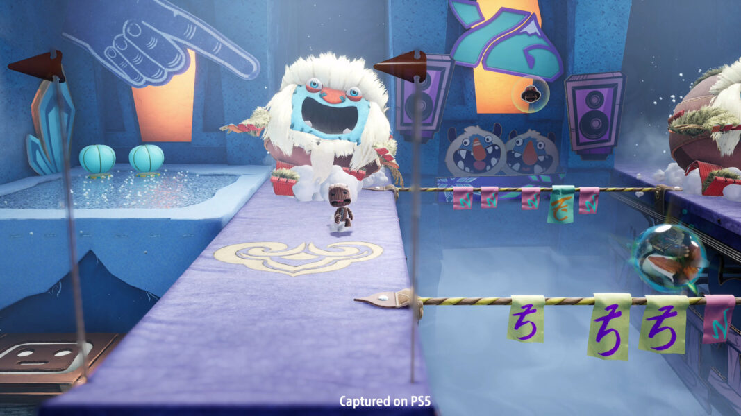 Sackboy returns to PS5 in a multiplayer adventure.