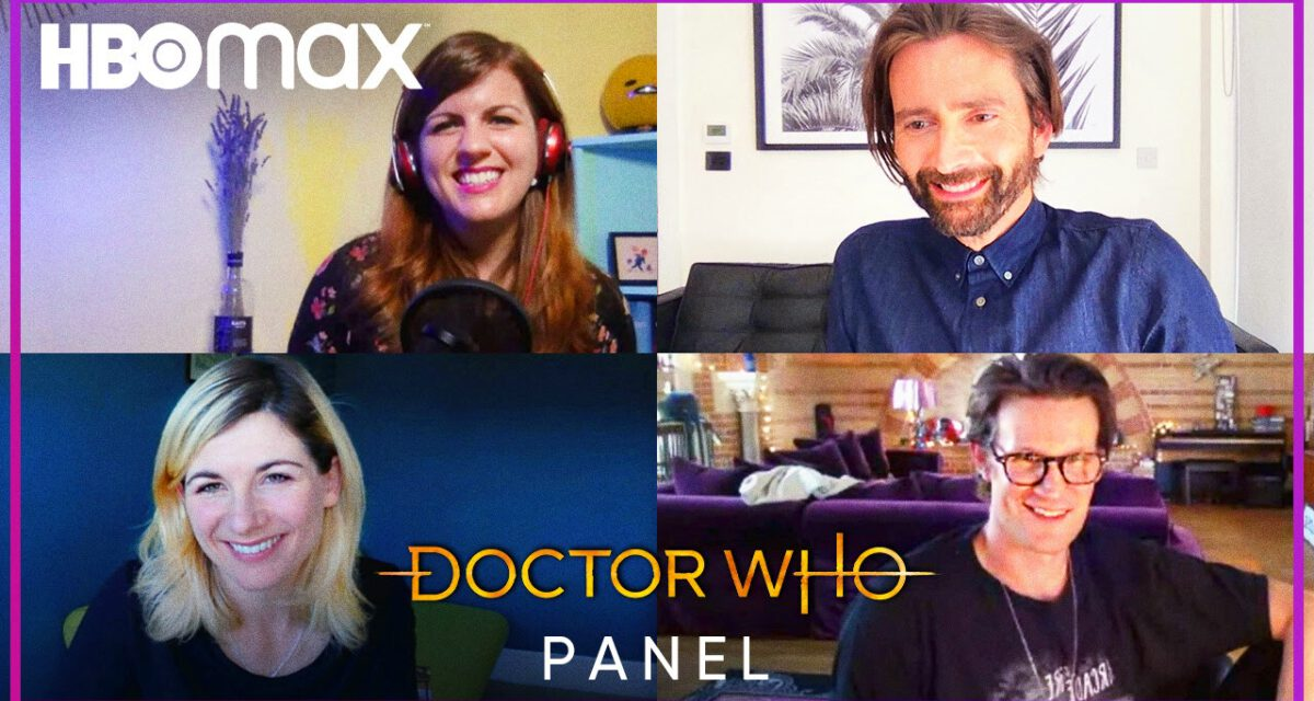 Jodie Whittaker, Matt Smith, and David Tennant Promote DOCTOR WHO for HBO Max