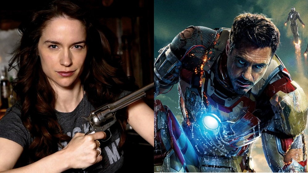 Melanie Scrofano in Wynonna Earp and Robert Downey, Jr. in Iron Man 3