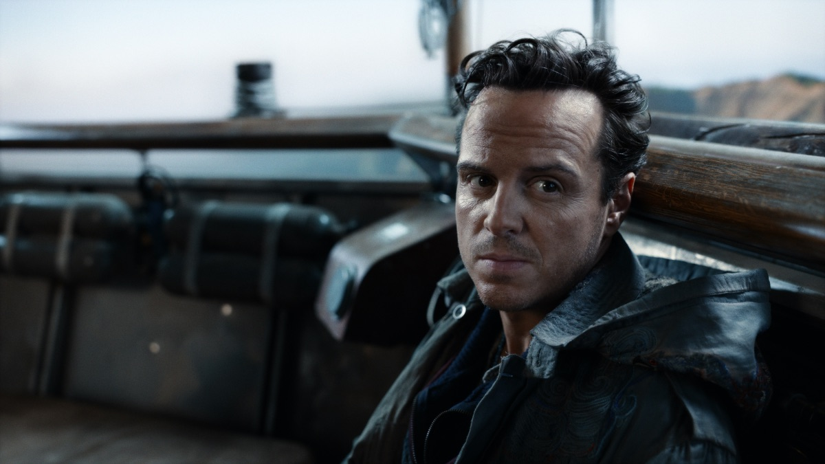 Andrew Scott in HBO's His Dark Materials Season Two