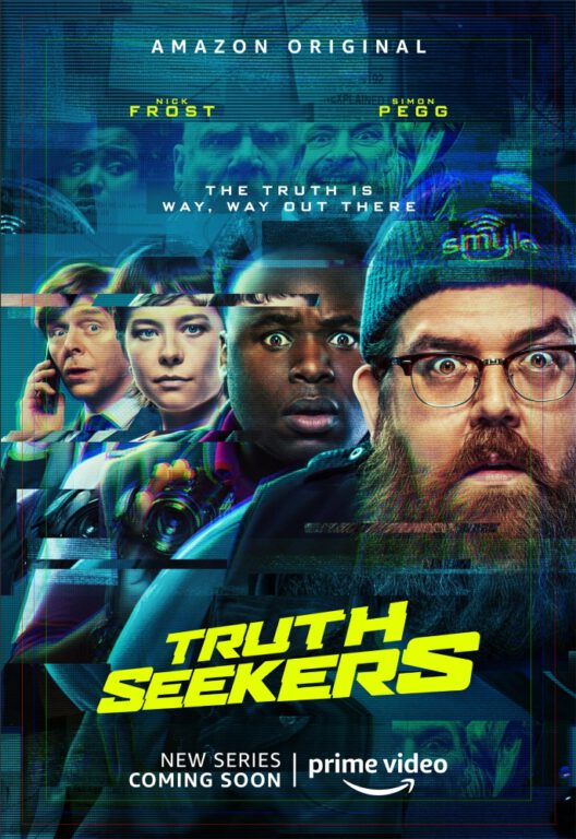New comedy from Simon Pegg and Nick Frost, Truth Seekers is coming to Amazon Prime this fall