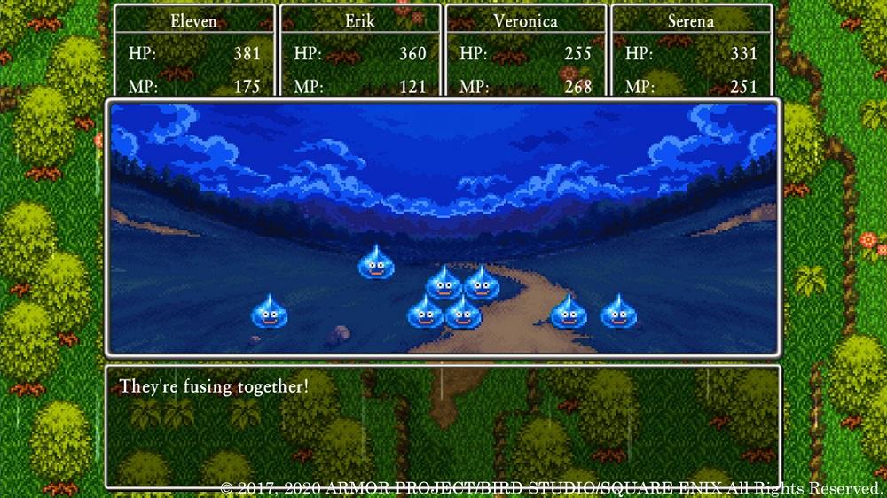 Dragon Quest XI Retro Graphics