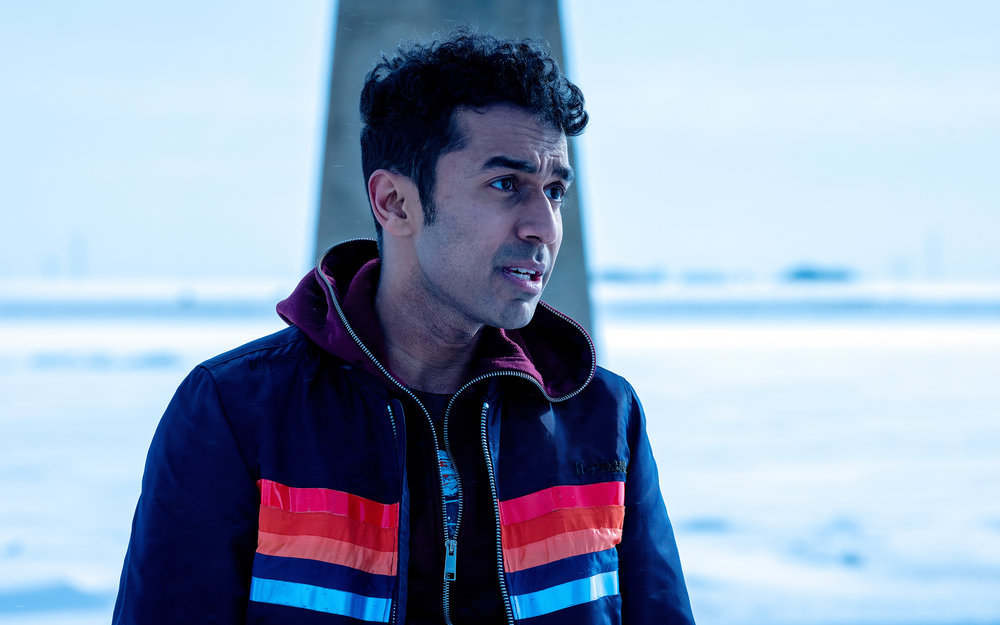 Still of Varun Saranga in Wynonna Earp.