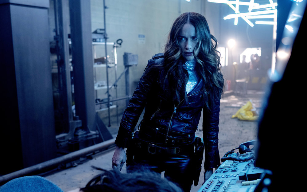 Still of Melanie Scrofano in Wynonna Earp.